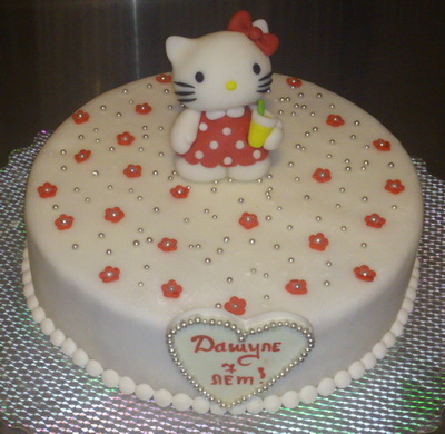 Дитячі тортики для дівчаток фото
