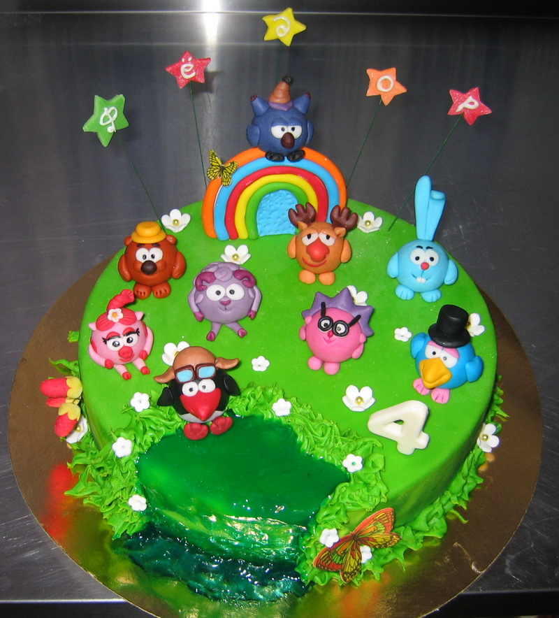 фото торти детские